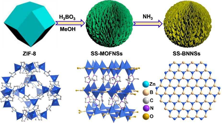 氮化硼纳米片的制备及应用