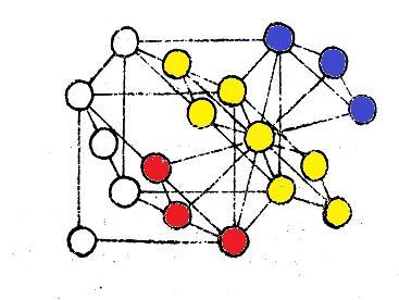 六方最密堆积晶胞原子数